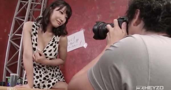 佐々木マリア 写真撮影